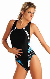 Jednodílné sportovní plavky